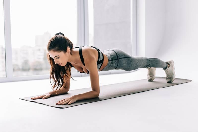 plank,žena